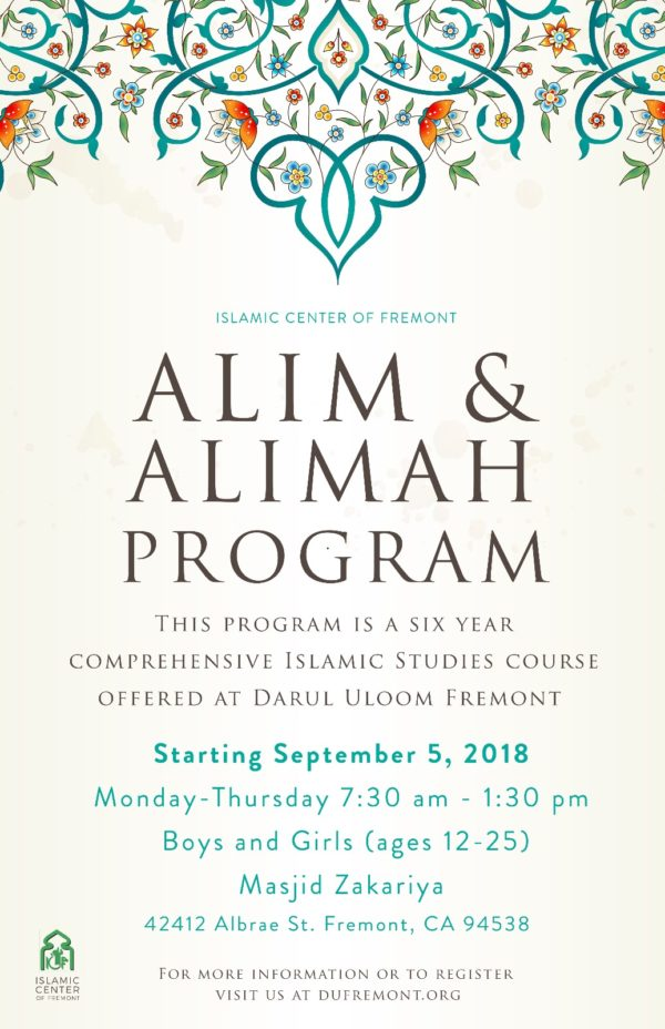 Aalim-Aalimah-Program
